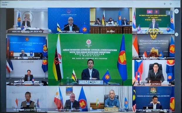 ASEAN Economic Ministers endorse 13 priority deliverables hinh anh 1