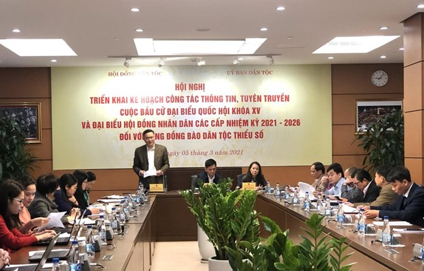 Election communications to be promoted in ethnic minority areas hinh anh 1