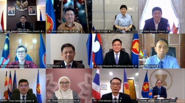 Vietnam attends meeting of ASEAN-China Joint Cooperation Committee hinh anh 1