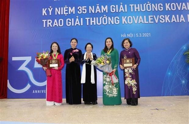 Winners of Kovalevskaya Award 2020 announced hinh anh 1
