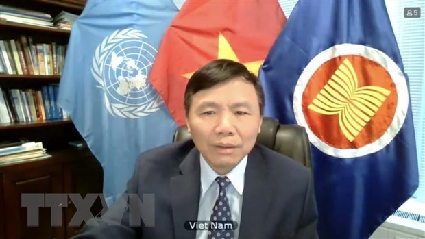 Vietnam calls on Myanmar to end violence, find satisfactory solution hinh anh 1