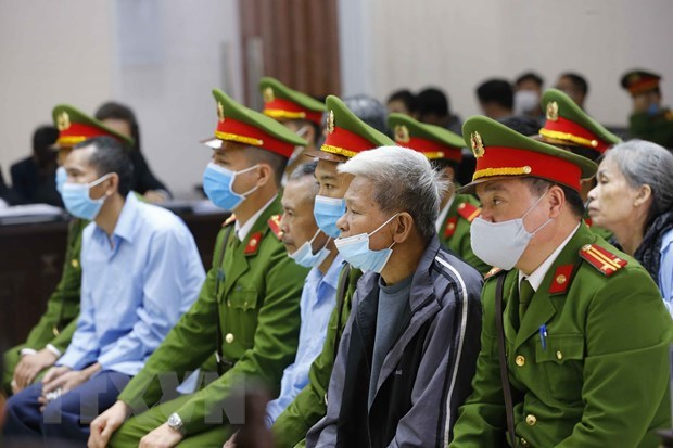 Defendants in Dong Tam case ask for sentence reduction hinh anh 1
