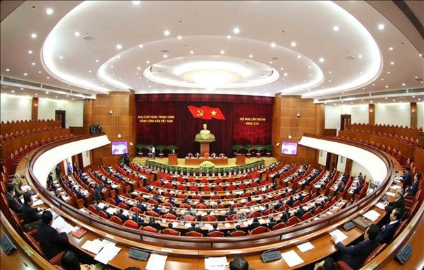 13th PCC's second plenum considers candidates for leading positions hinh anh 1