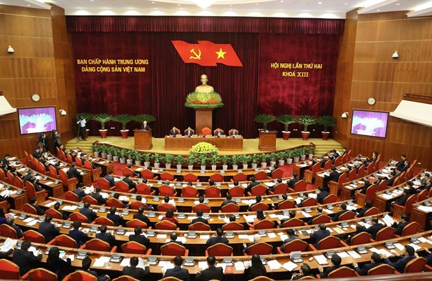13th Party Central Committee convenes second plenum hinh anh 1