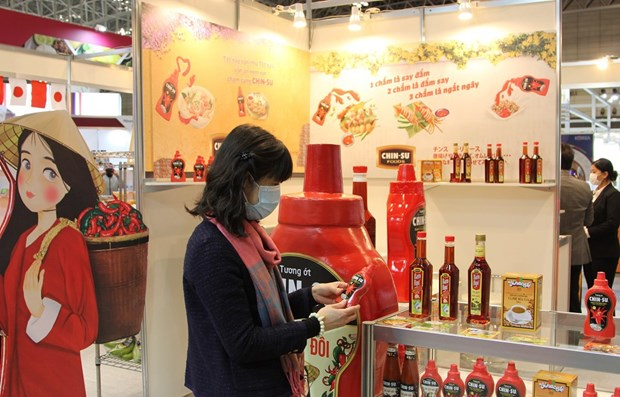 Vietnamese food, farm produce displayed at international exhibition in Japan hinh anh 1