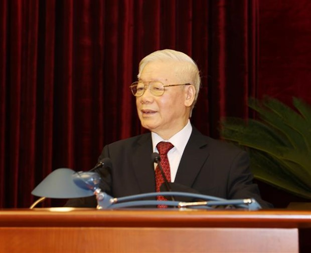 Party Central Committee wraps up second plenum hinh anh 1