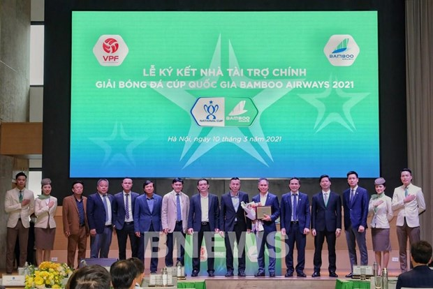 27 football clubs to compete in 2021 Bamboo Airways National Cup hinh anh 1