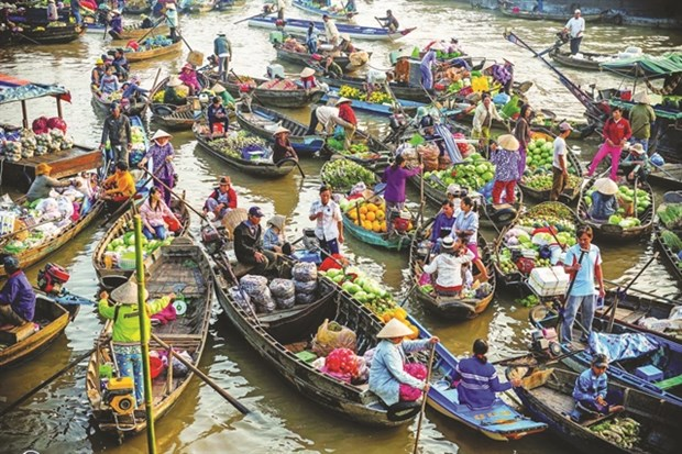 Can Tho promotes green tourism at Cai Rang Floating Market hinh anh 1