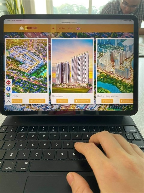 Property companies turn to technology amid pandemic hinh anh 1