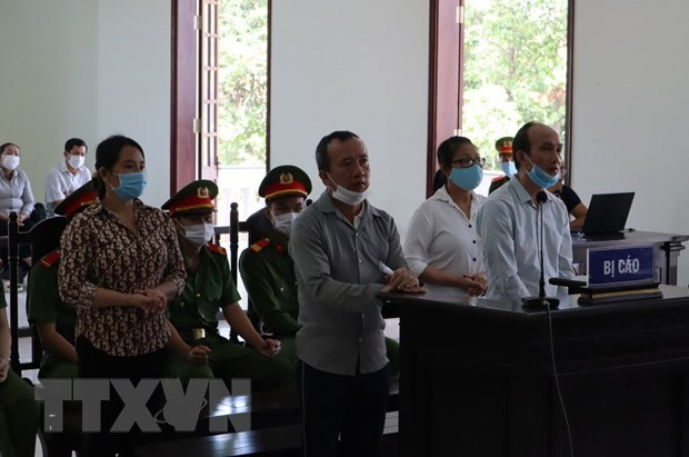 Binh Phuoc: Four sentenced for activities to overthrow people's administration hinh anh 1