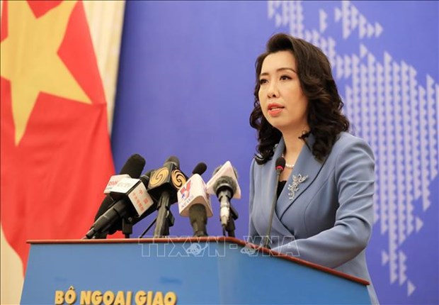 Foreign Ministry spokesperson highlights Vietnam's stance on int'l issues hinh anh 1