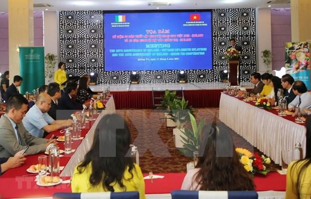 Quang Tri, Ireland mark 15-year cooperation hinh anh 1