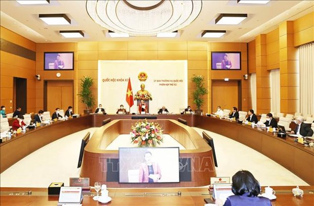NA Standing Committee's 54th session to consider personnel matters hinh anh 1