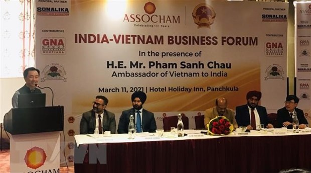Forum highlights new driving forces in Vietnam-India trade hinh anh 1