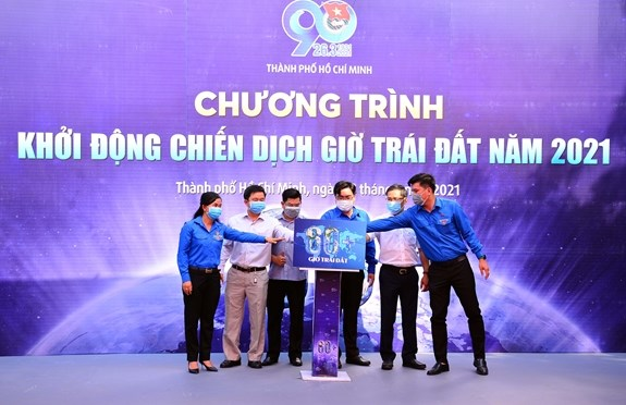 HCM City: Youths to involve in Earth Hour 2021 activities, projects hinh anh 1