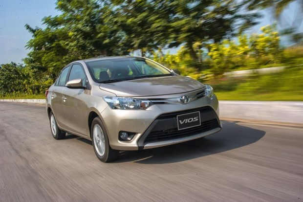 Toyota Vietnam sees sales down in February hinh anh 1