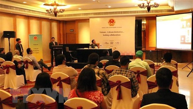 Vietnam's tourism promoted in India's northern city hinh anh 1