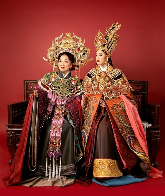 Art project on Vietnamese royal costumes launched hinh anh 1