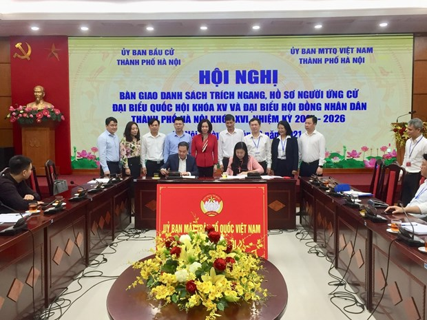 Hanoi has 33 self-nominated candidates for upcoming elections hinh anh 1