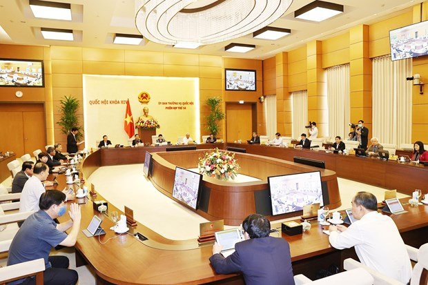 NA Standing Committee's 54th session opens hinh anh 1
