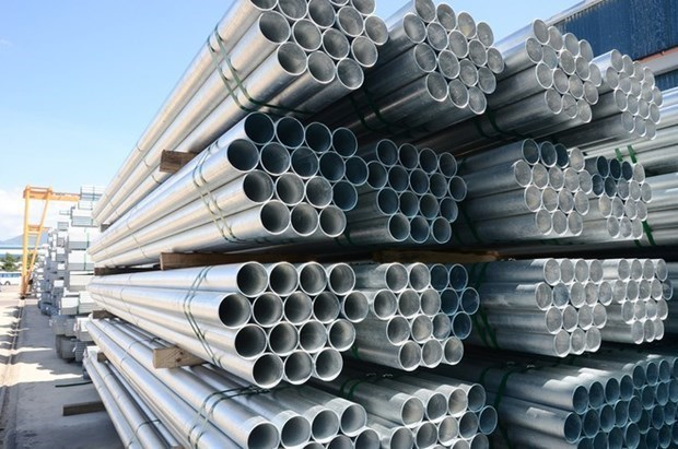 Hoa Phat's steel pipe sales up 8.6 percent in Jan-Feb hinh anh 1