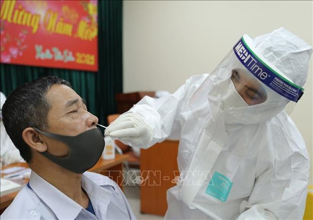 Two new COVID-19 cases reported on March 16 morning hinh anh 1