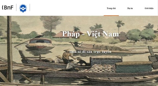 Digital library traces Vietnam-France cultural, historical interaction hinh anh 1
