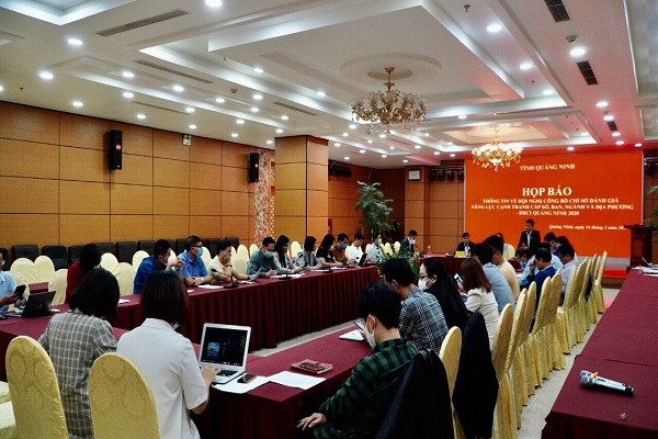 Quang Ninh to announce 2020 department, district competitiveness index hinh anh 1