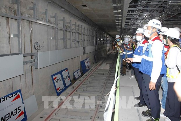 HCM City plans to carry out trial run of elevated section of metro line No.1 in late 2021 hinh anh 1