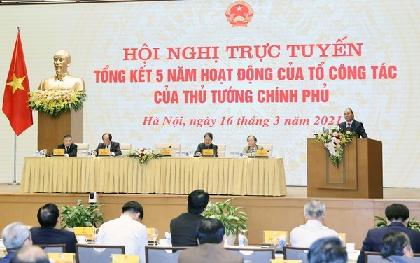 PM's Working Group praised for strong performance over last five years hinh anh 1