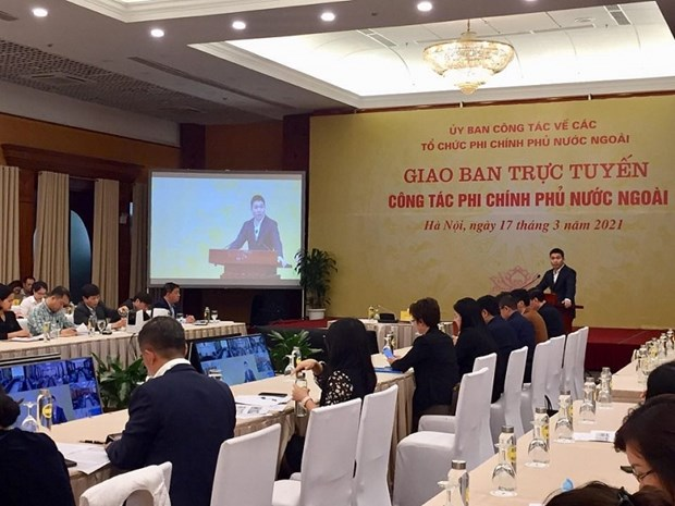 Foreign NGOs gives aid worth 220.7 million USD to Vietnam last year hinh anh 1