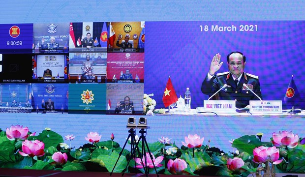 Vietnam joins ASEAN Chiefs of Defence Forces' Meeting hinh anh 1