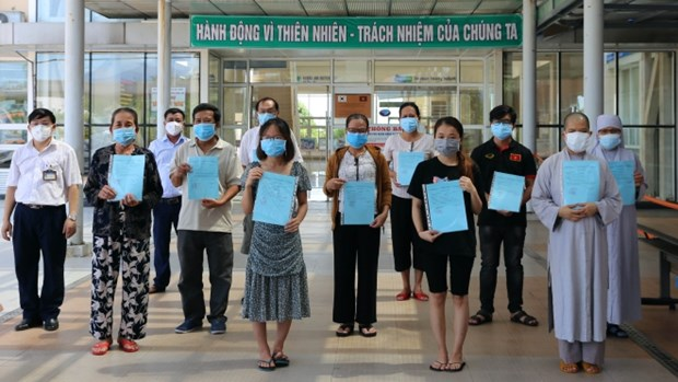 No new COVID-19 cases recorded on March 18 morning hinh anh 1