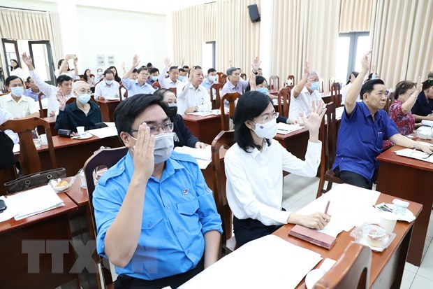 HCM City holds 2nd consultative conference for nominations of NA candidates hinh anh 2