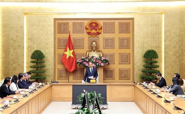 PM hosts Vietnam-ASEAN Economic Cooperation Development Association delegation hinh anh 1