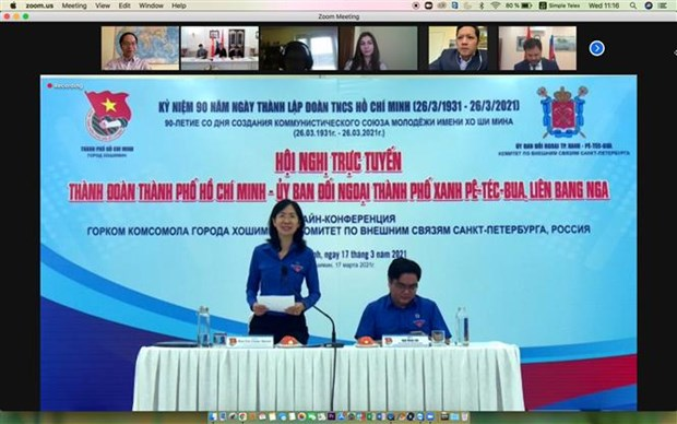 Youths of Vietnam, Russia enhance cooperation in new context hinh anh 2