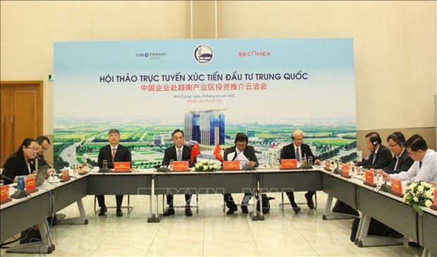 Binh Duong: Promoting Vietnam-China investment ties hinh anh 1