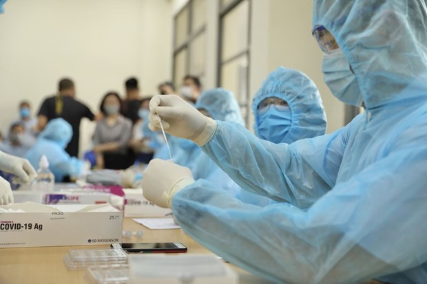 No new COVID-19 cases, infection tally in Vietnam kept at 2,570 hinh anh 1