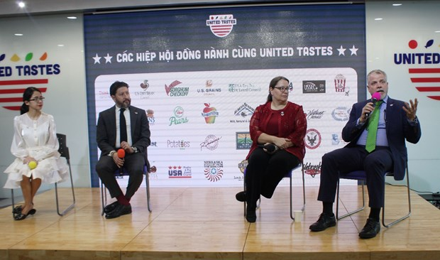 US popularises farm produce to Vietnam hinh anh 1