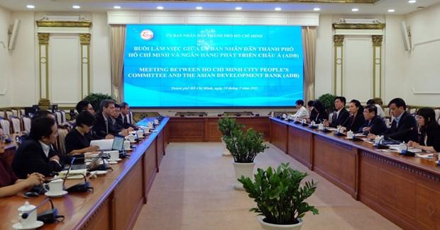 ADB – major partner of HCM City: official hinh anh 1