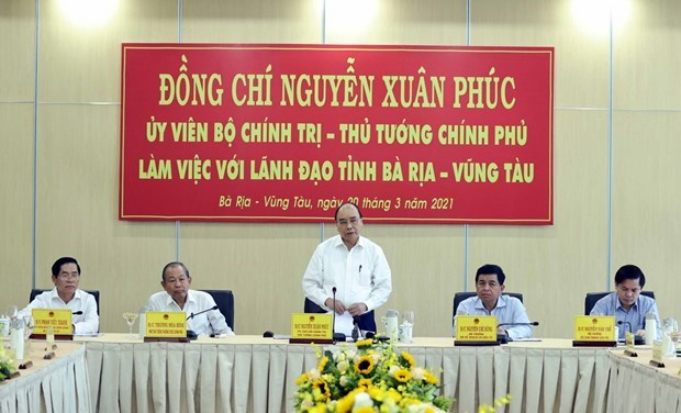 PM wants Cai Mep – Thi Vai seaport complex to be developed to regional standard hinh anh 2