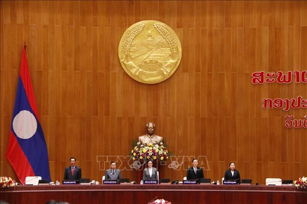 Laos' ninth National Assembly holds first session hinh anh 1