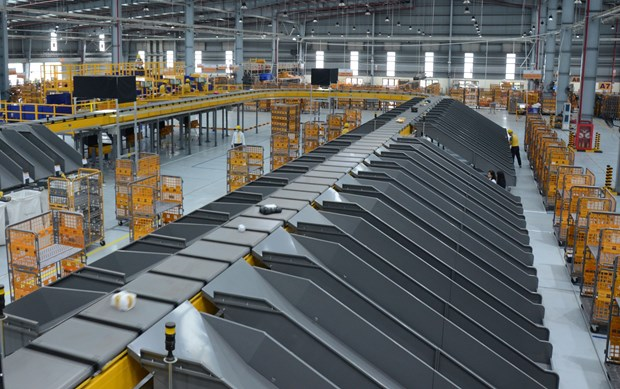 Vietnam Post launches automated package sorting system hinh anh 1