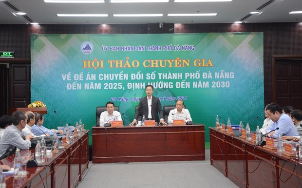 Digital transformation expected to help Da Nang with smart city building hinh anh 1