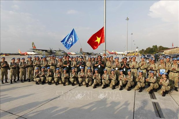 Departure ceremony held for third Level-2 Field Hospital hinh anh 1