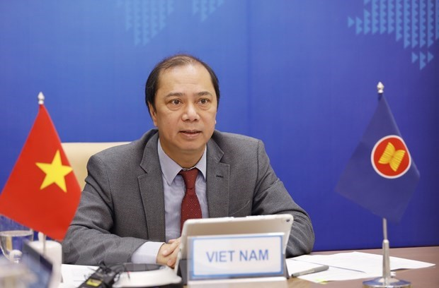Vietnam attends 28th ASEAN-New Zealand Dialogue hinh anh 1