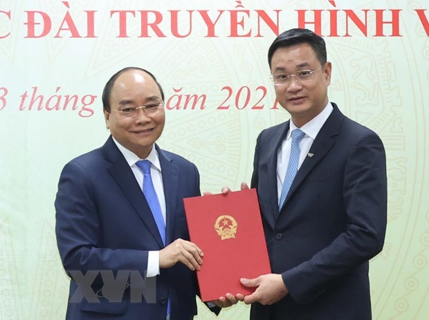 New General Director for Vietnam Television hinh anh 1