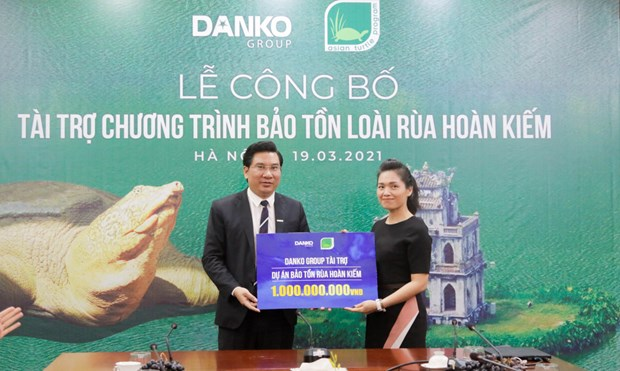 Danko Group funds project to protect Hoan Kiem turtles hinh anh 2