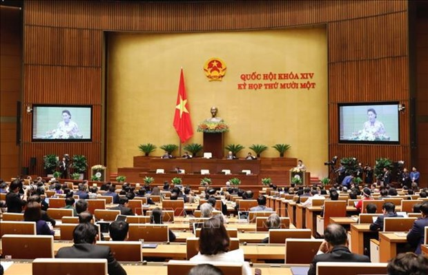 NA, State President, Government present working reports to 14th legislature hinh anh 1