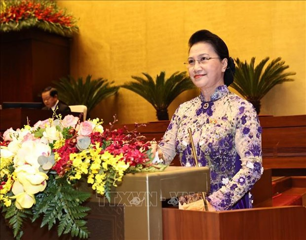14th National Assembly's 11th sitting opens hinh anh 2